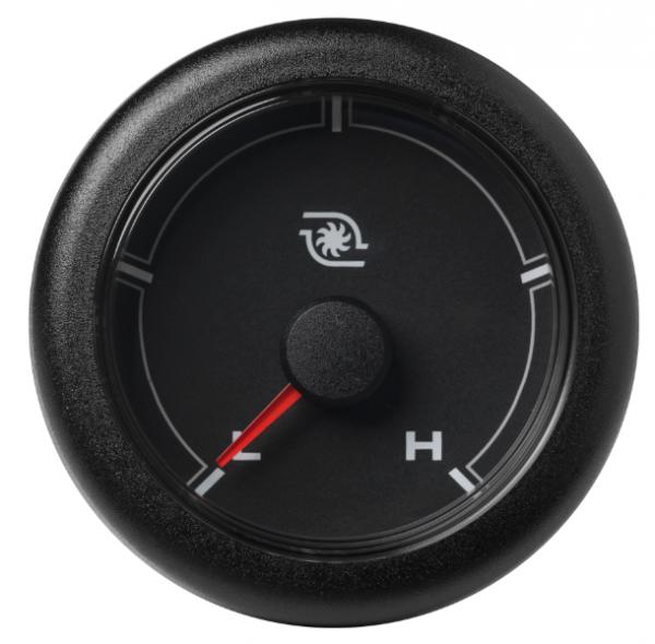 Ladedruck niedrig / hoch (30 psi) schwarz