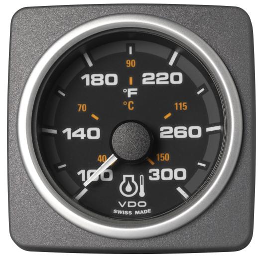Motoröltemperatur 300°F / 150°C schwarz