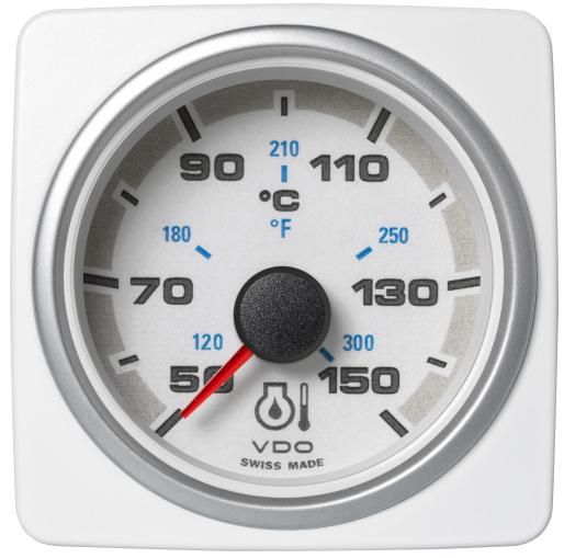 Motoröltemperatur 150°C / 300°F weiß