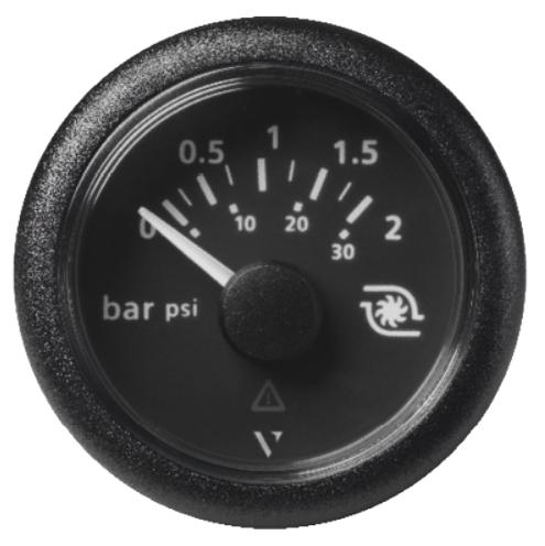 Ladedruck 2 bar / 30 psi schwarz (10 – 184 Ω)